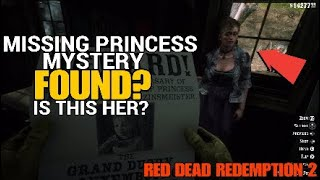 Red Dead Redemption 2 MISSING PRINCESS FOUND?? Is This Her??