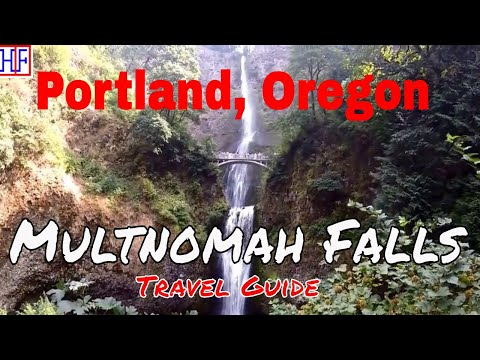 Portland | Multnomah Falls | Tourist Attraction | Episode# 10