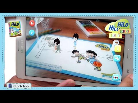[Tutorial] Kartu Augmented Reality HiLo School