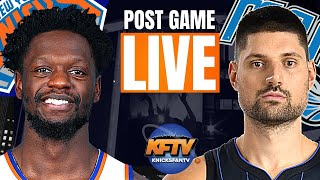 New York Knicks vs. Orlando Magic Post Game Show | Highlights & LIVE Callers| 2.17.21
