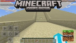 JEBAKAN PYRAMID | Minecraft Pocket Edition Indonesia | MCPE Indonesia