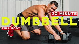 PMA Fitness || 20 Minute Dumb Bell HIIT Workout
