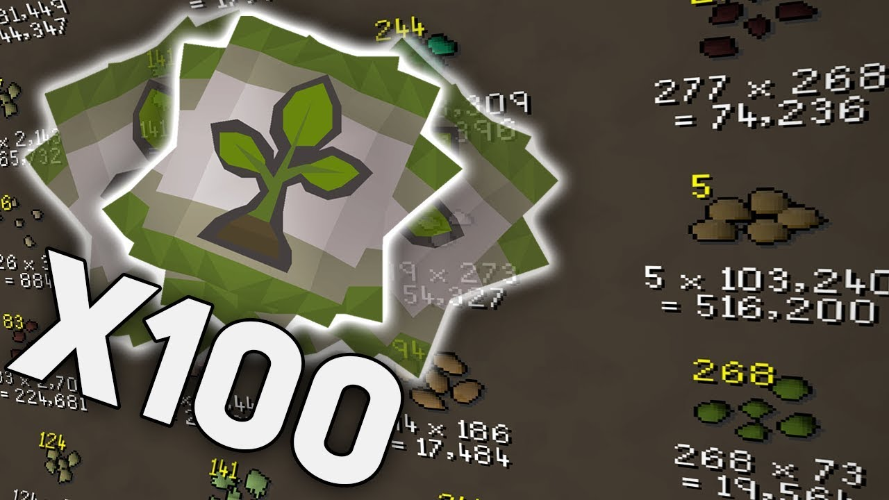 Completing 100 Farming Contracts on OSRS
