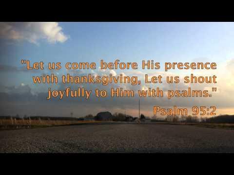 Thankfulness - Bible Promises Spoken