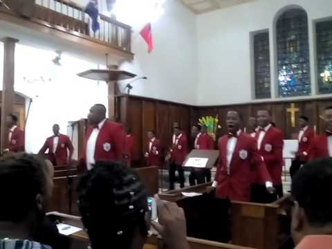 Mona Campus Male Chorus (UWI)- Wonderful world