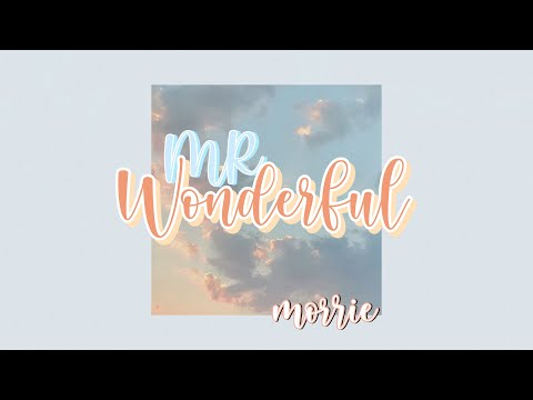 Morrie (모리) - Mr.Wonderful [Lyrics]