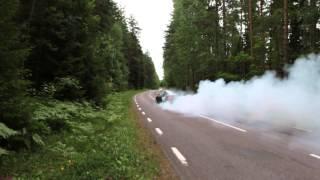 nissan 200sx 320hp 2 gear burnout