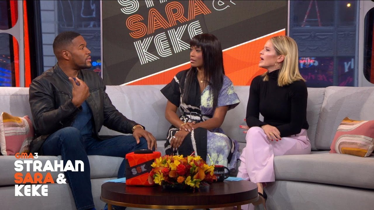 How do Michael, Sara & Keke talk about politics during the holidays?