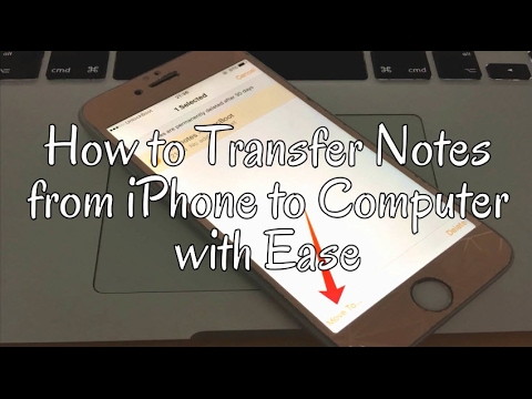 how to transfer notes from iphone to android how to transfer notes from iphone to computer with ease 7288