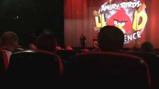Sara Cox launches the Angry Birds 4D Experience!