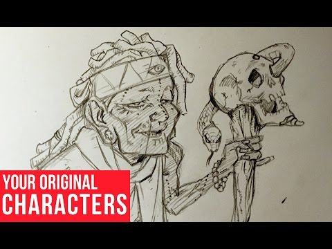 Drawing Your Original Characters: Voodoo Witch Ep. 1