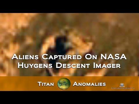 Aliens Captured  On NASA Huygens Descent Imager - Titan Anomalies★★★