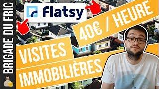 Complément de revenu : Visites d'appartements avec Flatsy