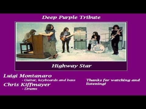 Highway Star Cover Instrumental - Deep Purple Tribute