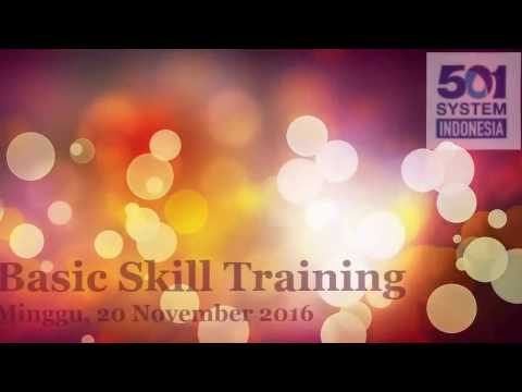 Basic Skill Training Bisnis KanGen Water
