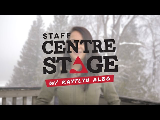 Staff Centre Stage: Kaytlyn Albo