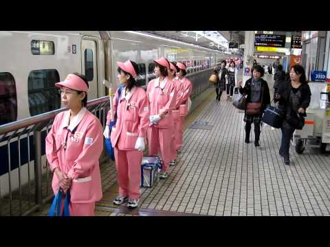 Cleaning the bullet train