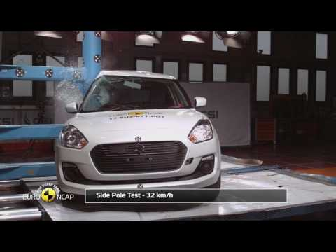 Euro NCAP Crash Test of Suzuki Swift