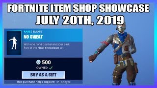 *NEW* FLOSS 2.0 EMOTE! & COPPER WASP SKIN! (Fortnite Item Shop 20th July)