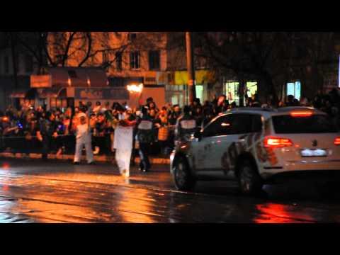 Олимпийский огонь в Нижнем Новгороде вновь потух