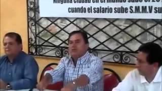 """CMM NOTICIAS """"No más alzas en los servicios públicos"""" Alejandro Duarte"""