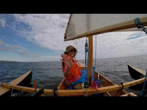 "Canoe Eureka ""La Savonnière"" 20170227 - Piriápolis-Punta Colorada"