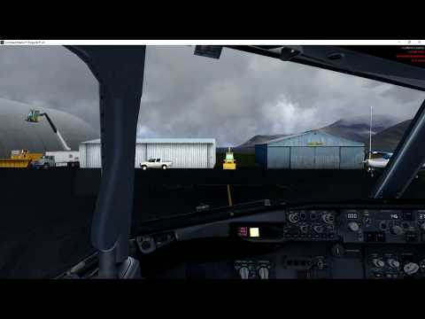 NAX Svalbard to Oslo PMDG 737-800 with FS2Crew 64bit