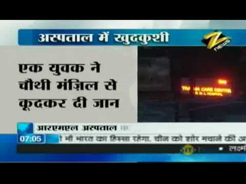 Bulletin#2 - Depressed Delhi youth jumps from four...