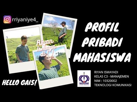 PROFIL MAHASISWA STIE STEMBI BANDUNG BUSINESS SCHOOL (RIYAN ISMAYADI)