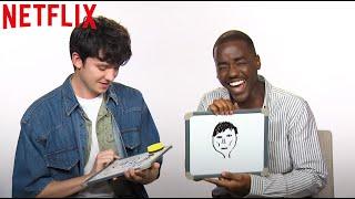 sex Education: Staffel 2 | Der Cast zeichnet sich gegenseitig | Netflix