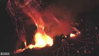 HAWAII VOLCANO Kilauea Eruption continues MORE Fissures Active!