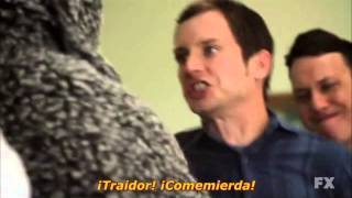 Eat shit EAT SHIT - Wilfred S01E09 1x09