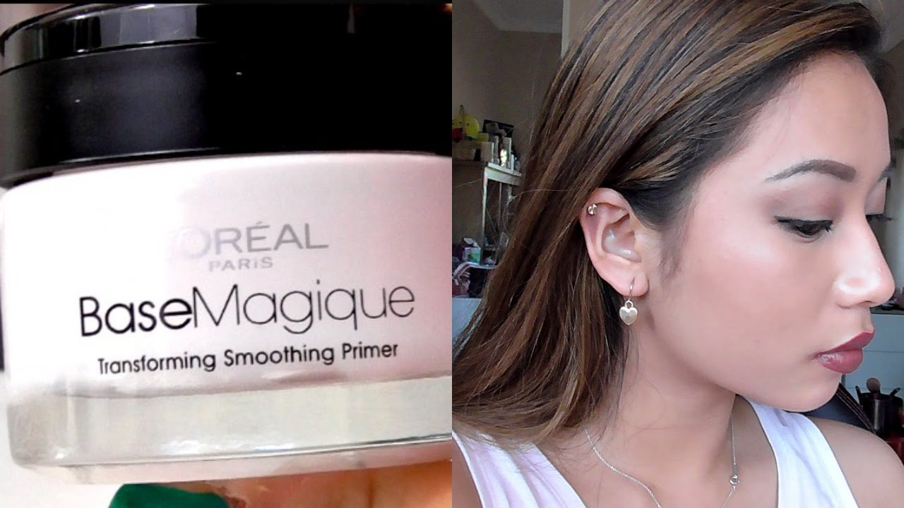 Loreal base magique primer first impressions review demo youtube solutioingenieria Choice Image