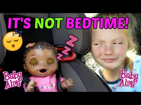 BABY ALIVE has a LATE NIGHT PARTY! The Lilly and Mommy Show. The TOYTASTIC Sisters. FUNNY KIDS SKIT!