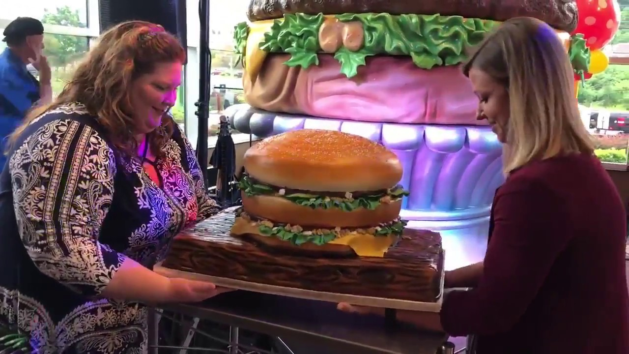 Bigmac50 Bethel Bakery Big Mac Cake Youtube