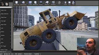 Unreal Engine 4 автомобиль Пытаюсь надурить систему