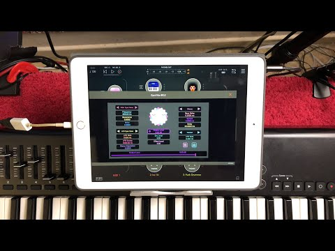 Three 100% FREE AUv3 FX - GyroVibe - LRC5 EQ - CuSnP String Resonator - iPad Demo