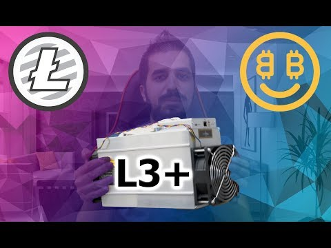 How Much Can You Make With The Bitmain Antminer L3+ - Litecoin and Script Miner 504MH/s Review 4K