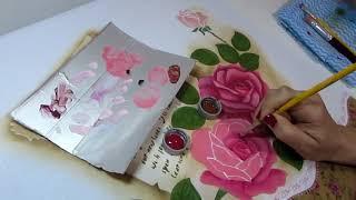 Dica como Pintar Rosa Clássica – Paty Buoso