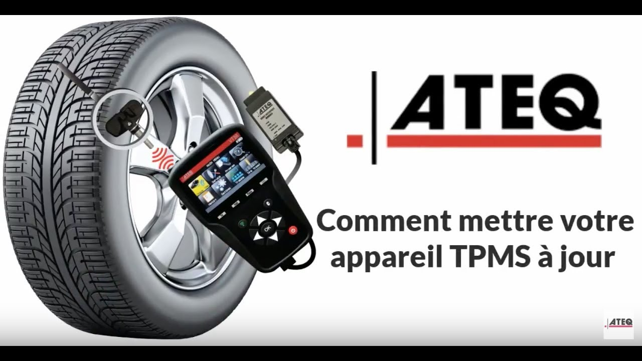 comment mettre votre appareil tpms jour ateq tpms fran ais youtube. Black Bedroom Furniture Sets. Home Design Ideas