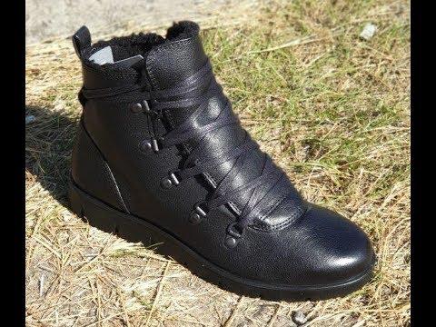 Обзор женских зимних ботинок ECCO BELLA