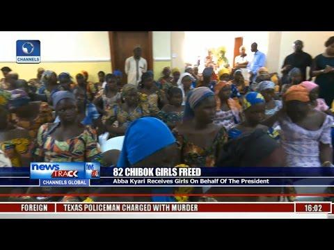 82 Chibok Girls Freed: Abba Kyari Receives Girls On Behalf Of The President