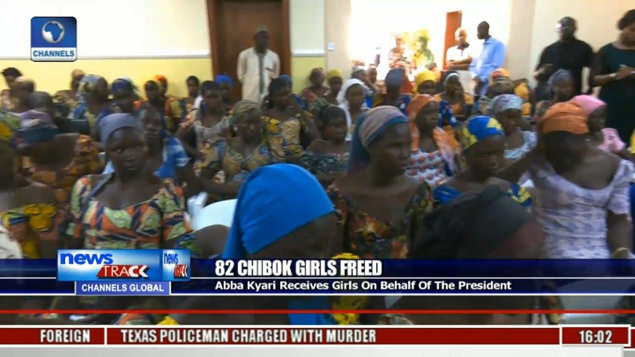 Download 82 Chibok Girls Freed: Abba Kyari Receives Girls On Behalf Of The President