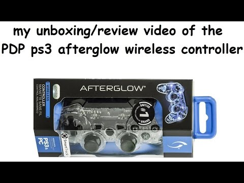 how to connect afterglow controller to ps3