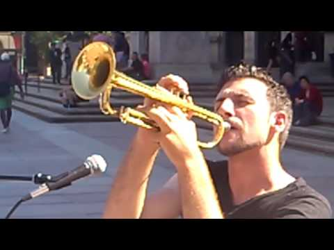Live from Copley Square, It's  Caleb Hensinger