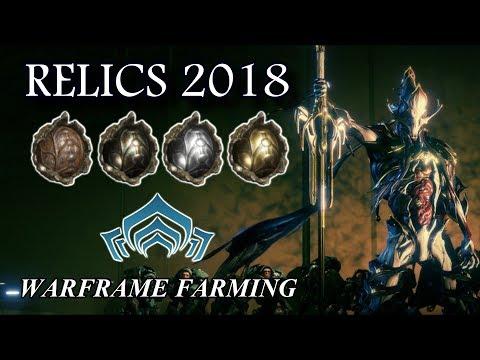 Warframe Farming - Relics (2018)