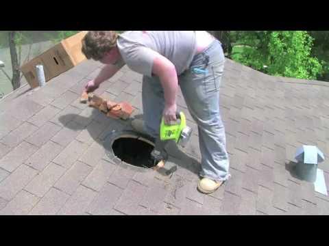 Sunrise Solar Attic Fan Installation Youtube