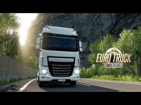 Euro Truck Simulator 2 [modded] Delivering jobs long haul. [LIVE STREAM]