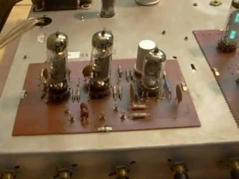 Ecl86 Single Ended Amp With Em84 Magic Eye