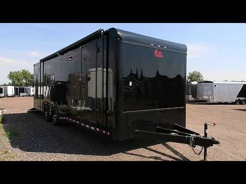 It's a 28 foot - not a 24!  Smooth skin black - blackout trailer for sale